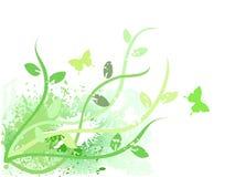 Verde del resorte Stock de ilustración