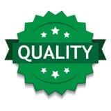 Verde del sello de calidad libre illustration