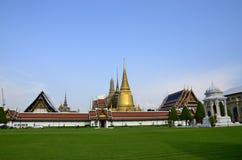 Verde del tempio Fotografie Stock