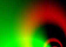 Verde dell'alettone del traforo illustrazione vettoriale