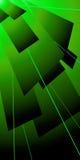 Verde dell'alettone di Lazer royalty illustrazione gratis
