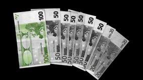 Verde dell'euro Immagine Stock