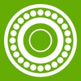 Verde dell'icona del cuscinetto illustrazione vettoriale