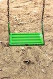 verde dell'oscillazione Fotografie Stock