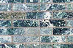 Verde della parete della malachite per il contesto Fotografie Stock Libere da Diritti