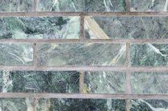 Verde della parete della malachite per il contesto Immagini Stock Libere da Diritti
