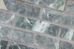 Verde della parete della malachite per il contesto Immagine Stock