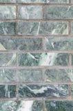Verde della parete della malachite per il contesto Immagini Stock