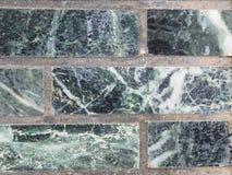 Verde della parete della malachite per il contesto Fotografie Stock