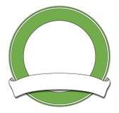 Verde della piastra Fotografie Stock