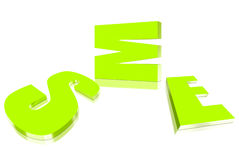 Verde della PMI Immagine Stock Libera da Diritti