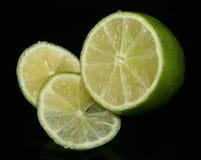 Verde di calce Fotografie Stock Libere da Diritti