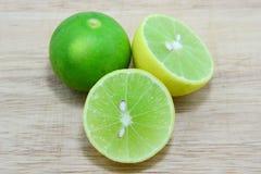 Verde di calce Immagine Stock