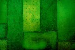 Verde di calce astratto della tela di canapa Immagini Stock