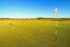 Verde di golf Fotografie Stock Libere da Diritti