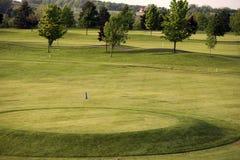 Verde di golf Immagine Stock Libera da Diritti