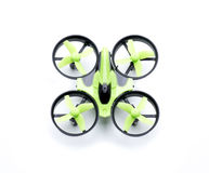 Verde di Quadcopter Immagine Stock