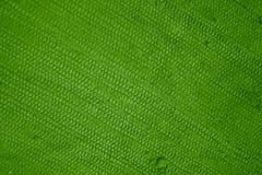 Verde di struttura del cotone Fotografie Stock