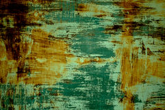 Verde di superficie della ruggine Fotografia Stock Libera da Diritti