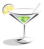 Verde do cocktail Fotografia de Stock Royalty Free