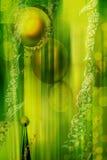 Verde do fundo ilustração do vetor