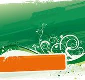 Verde do fundo Fotografia de Stock
