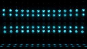 verde do LAÇO da exploração vertical 4K da fase da ampola 3d video estoque