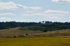 Verde do monte Fotografia de Stock Royalty Free