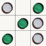verde do Tic-tac-dedo do pé Fotografia de Stock Royalty Free
