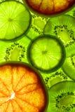 Verde e colore rosso Immagine Stock