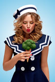 Verde e doce Fotografia de Stock