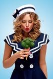 Verde e dolce Fotografia Stock