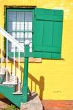 Verde e giallo Fotografia Stock