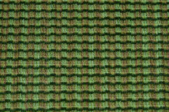 Verde e textura da tela de Brown Fotografia de Stock
