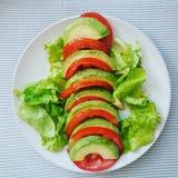 Verde e vermelho Foto de Stock