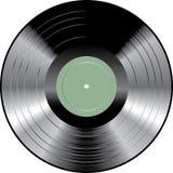 Verde en blanco LP Imagen de archivo