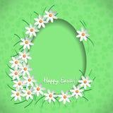 Verde feliz de easter Fotografia de Stock Royalty Free