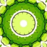Verde floral Foto de Stock