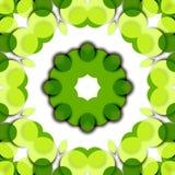 Verde floral Foto de archivo libre de regalías