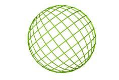 Verde, globo Imagem de Stock