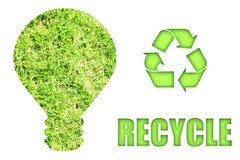 Verde indo e salvamento de nosso planeta Imagem de Stock Royalty Free