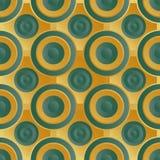 Verde infinito do ouro da quadriculação Imagens de Stock Royalty Free