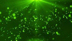 Verde ligero particular del fondo HD 1080 almacen de metraje de vídeo