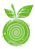 Verde-maçã abstrato Imagens de Stock Royalty Free