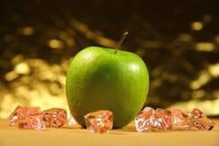 Verde mela Fotografie Stock