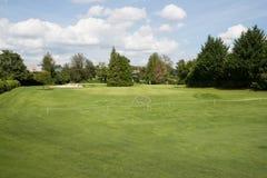 Verde mettente di golf Fotografia Stock