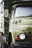 Verde militare russo del camion Fotografie Stock Libere da Diritti