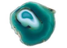Verde minerale dell'agata Immagine Stock Libera da Diritti