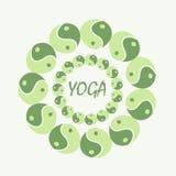 Verde neutro da mandala para seu projeto Fotografia de Stock Royalty Free