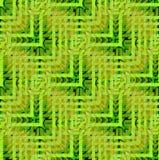 Verde verde oliva regular de verde lima del limón del modelo de zigzag marrón claro diagonalmente ilustración del vector